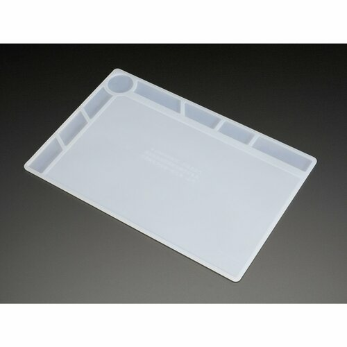 Insulated Silicone Rework Mat - 34cm x 23cm x 4mm Work Surface