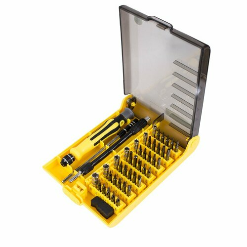 Multifunctional Chrome Vanadium Steel Precision Screwdriver Tools Kit