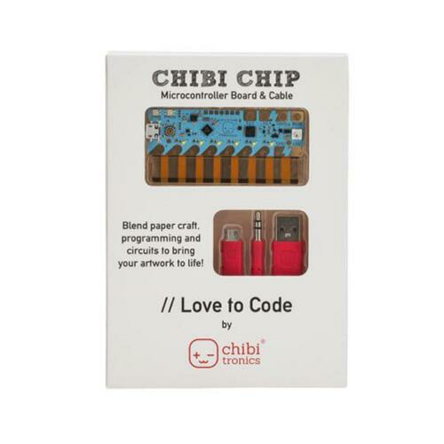 Chibitronics Love to Code: Chibi Chip  Cable
