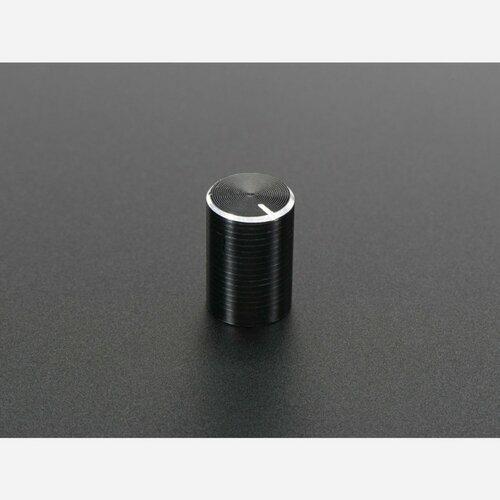 Slim Metal Potentiometer Knob - 10mm Diameter x 15mm - T18