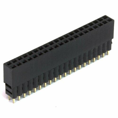 GPIO Header for RaspberryPi A+/B+/Pi 2/Pi 3 - Tall 2x20 Female Header