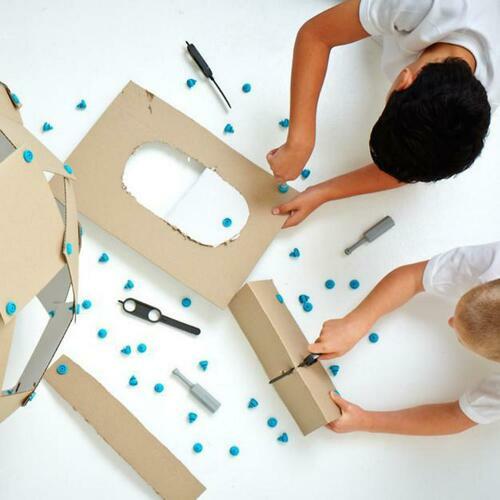 MAKEDO Cardboard Construction Toolkit (Classroom Pack)