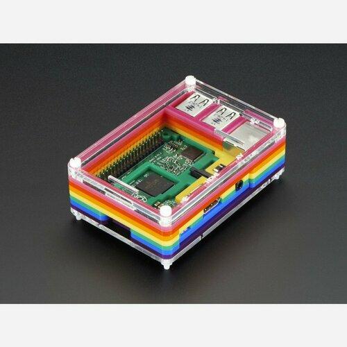 Rainbow Pibow - Enclosure for Raspberry Pi 2 / Model B+/ Pi 3