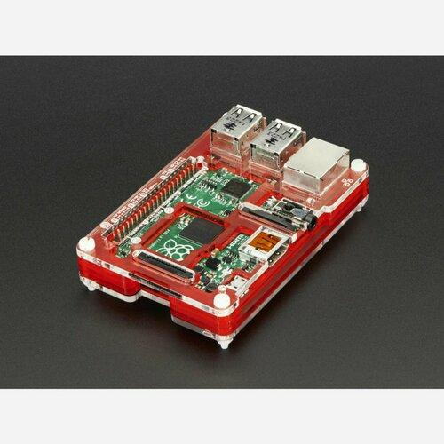 Pibow Coupé - Enclosure for Raspberry Pi 2 / B+ / Pi 3
