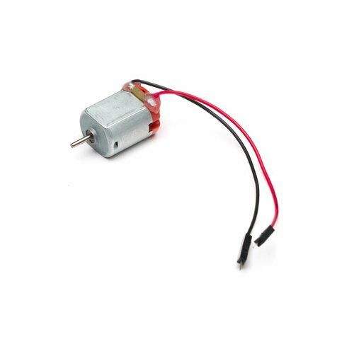 Motor with header pins