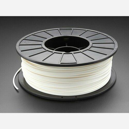 PLA Filament for 3D Printers - 3mm Diameter - White - 1KG