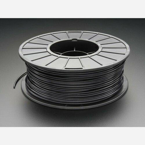 PLA Filament for 3D Printers - 3mm Diameter - Black - 1KG