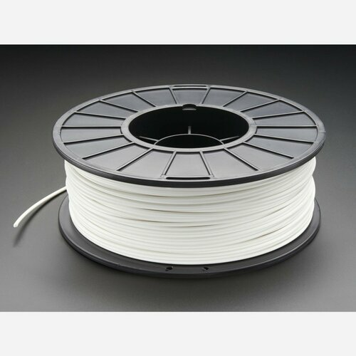 ABS Filament for 3D Printers - 3mm Diameter - White - 1KG