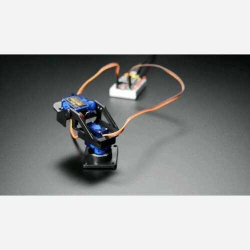 Mini Pan-Tilt Kit - Assembled with Micro Servos