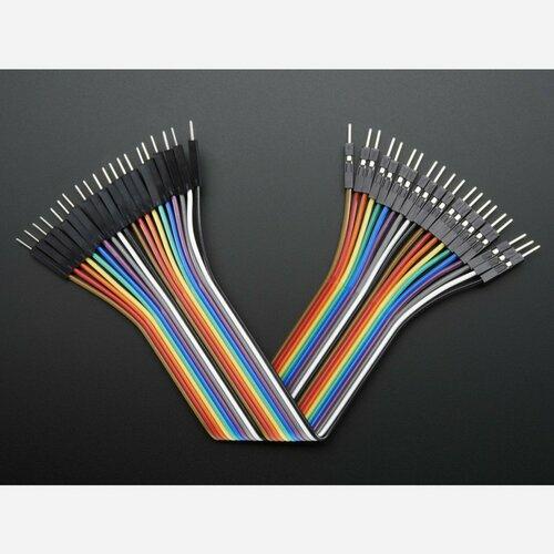 Premium Male/Male Jumper Wires - 20 x 6 (150mm)