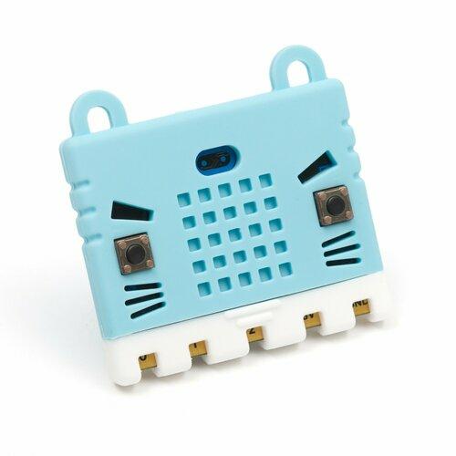 Micro:bit Rubber Case in Light Blue