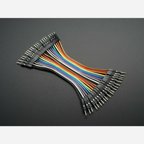 Premium Male/Male Jumper Wires - 20 x 3 (75mm)