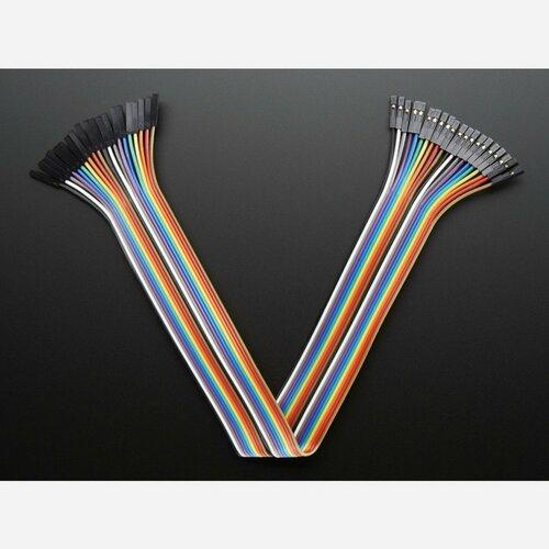 Premium Female/Female Jumper Wires - 20 x 12 (300mm)