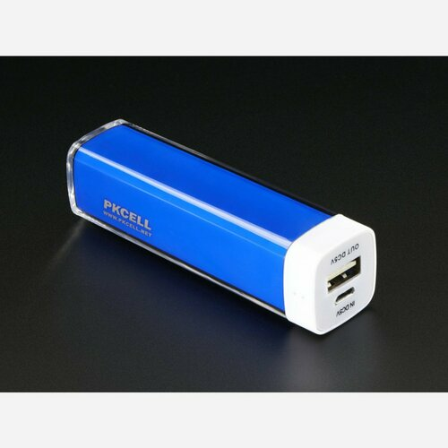 USB Battery Pack - 2200 mAh Capacity - 5V 1A Output