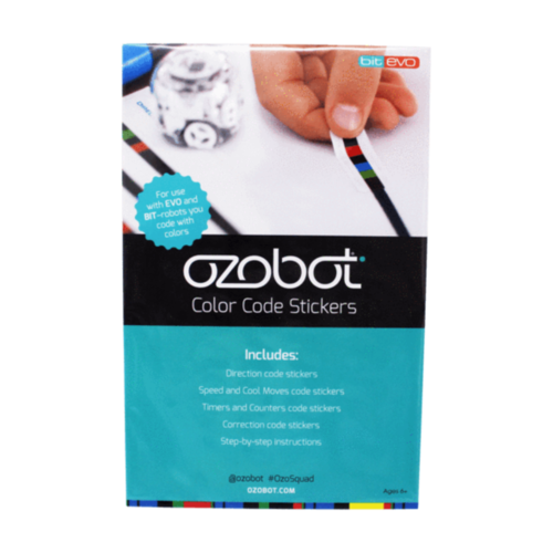 Colour Code Stickers, For Evo and OzoBot