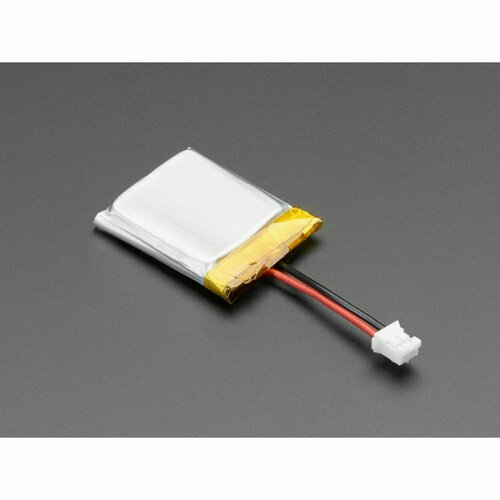 Lithium Ion Polymer Battery with Short Cable - 3.7V 350mAh