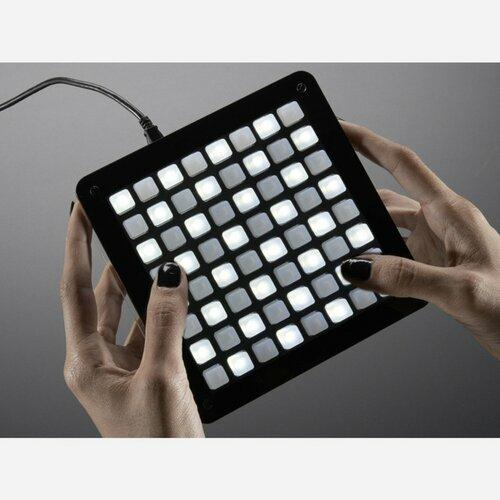Adafruit UNTZtrument! Open-Source 8x8 Grid Controller Kit [8x8 White LEDs]