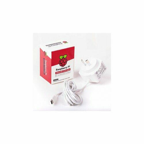 Raspberry Pi Power Supply USB-C 5V 15W (White)