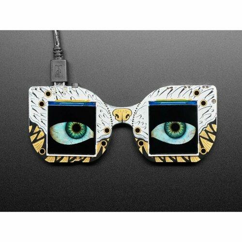 Adafruit MONSTER M4SK - Two Eyes are Better Than One!