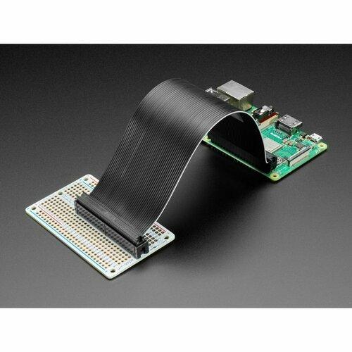 Adafruit Perma-Proto 40-Pin Raspberry Pi Half-Size PCB Kit - with 2x20 Header