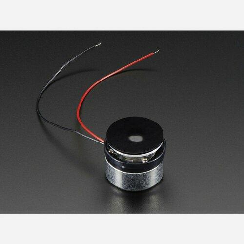 Medium Surface Transducer with Wires - 4 Ohm 3 Watt