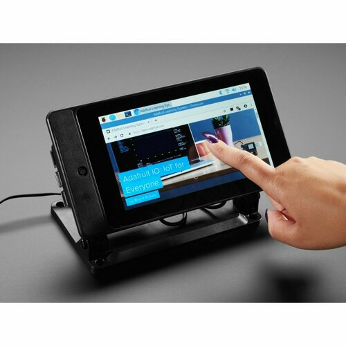 SmartiPi Touch 2 - Stand for Raspberry Pi 7 Touchscreen Display - Compatible with Pi 4
