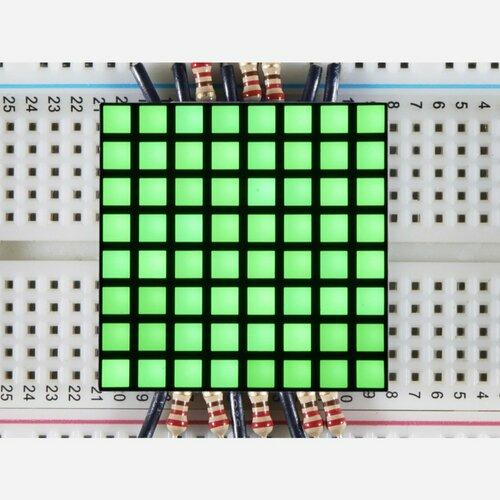 1.2 8x8 Matrix Square Pixel - Pure Green [KWM-R30881CPGB]