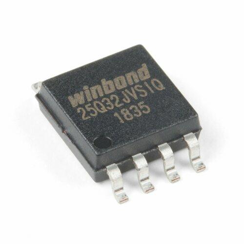 Serial Flash Memory - W25Q32FV (32Mb, 104MHz, SOIC-8)