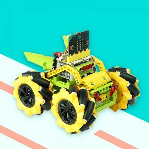 micro:bit Wonder Rugged Car (Yellow) (without micro:bit board)