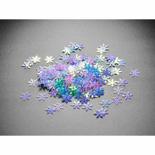 Shimmering Snowflake Glitter - 8mm