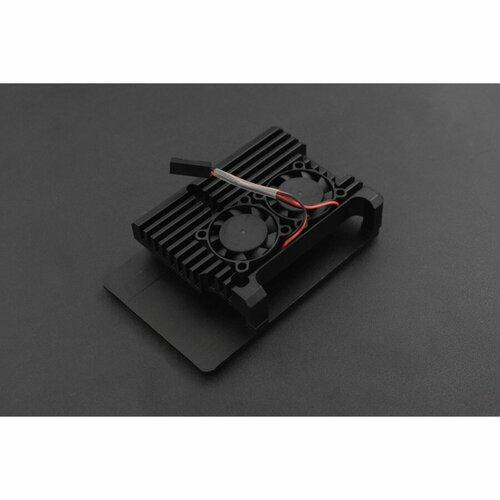 Metal Case for Raspberry Pi 4B (Dual fans)