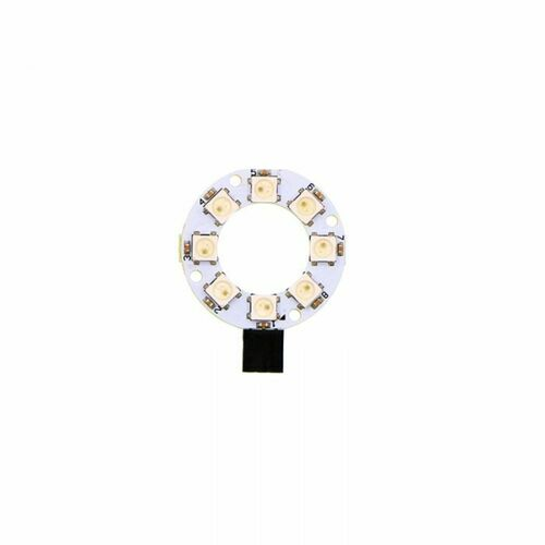 8 RGB Rainbow LED Ring