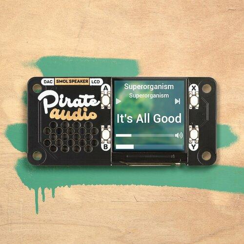 Pirate Audio Speaker for Raspberry Pi
