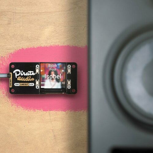 Pirate Audio: Line-out for Raspberry Pi