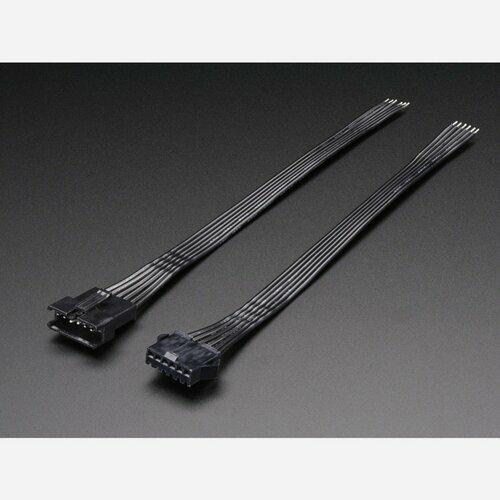 6-pin JST SM Plug + Receptacle Cable Set