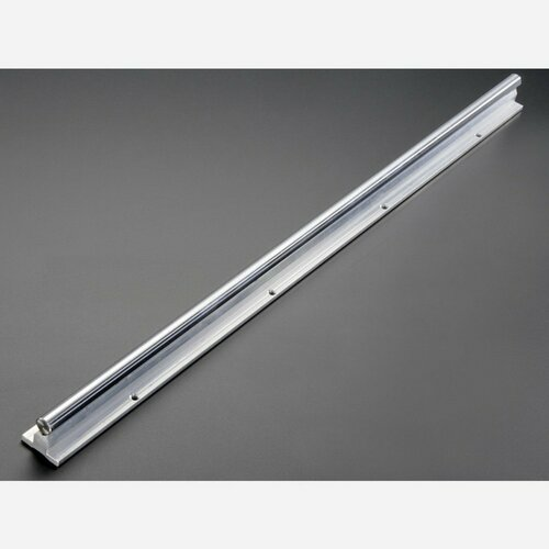Linear Bearing Supported Slide Rail - 12mm wide - 600mm long