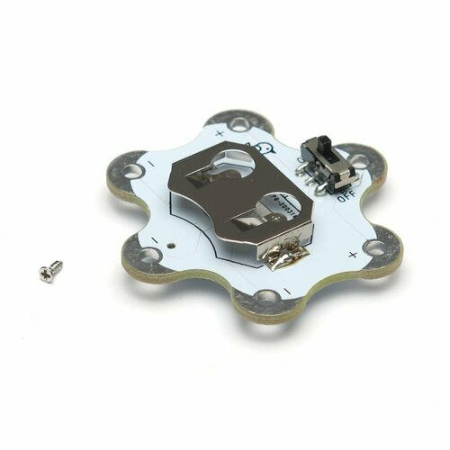 E-Textiles EagLED battery holder with screw for CR2032