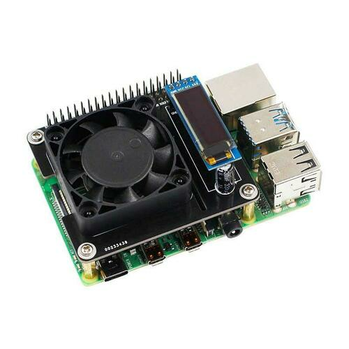 Smart Cooling Hat For Raspberry Pi 4B