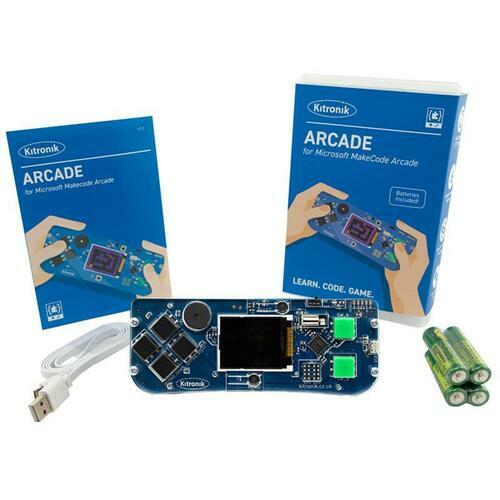 Kitronik ARCADE for MakeCode Arcade - Retail Pack