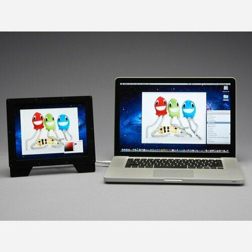 Adafruit Qualia 9.7 DisplayPort Monitor - 2048x1536 Resolution