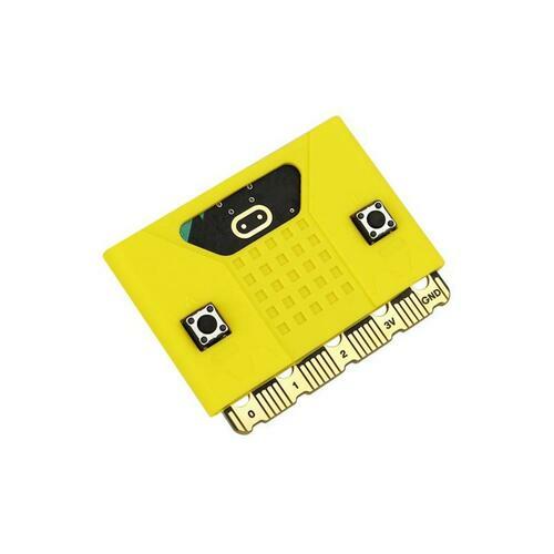 Micro:bit silicone case compatible with V1.5/ V2 board - Yellow