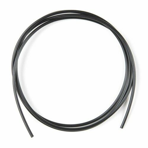 2.2mm Simplex Plastic Fiber - Black Jacket 960/1000um (1m length)