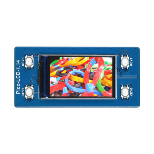 Pico - LCD-1.14 IC Test Board