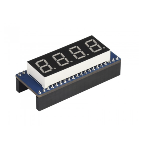4-digit 8-segment Display Module for Raspberry Pi Pico, SPI-compatible