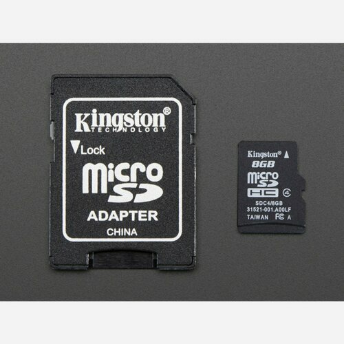 16GB Card with NOOBS 3.0
