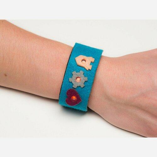myDazzu - Programmable Wearable Electronic Wristband