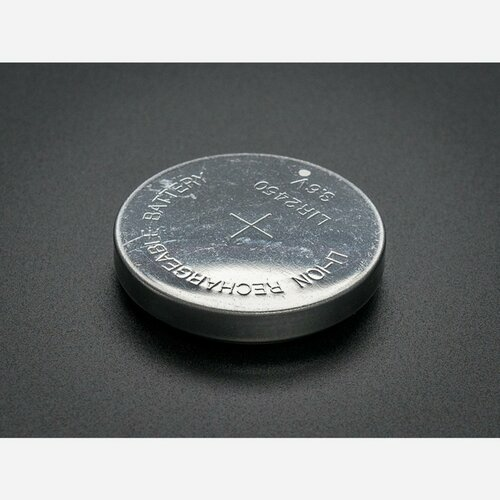 Lithium Ion Rechargable Coin Cell Battery - LIR2450
