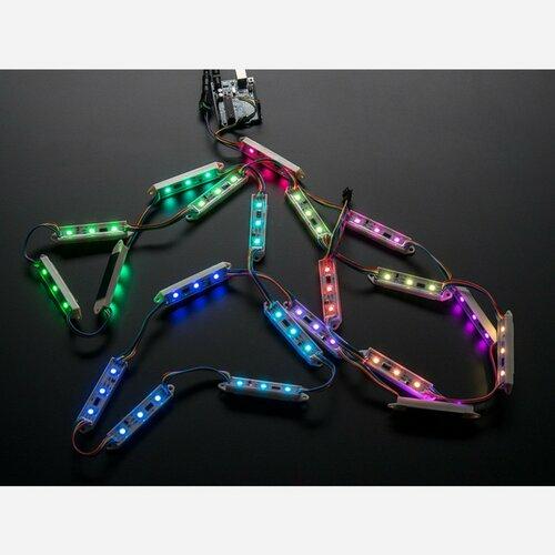 75mm Bars - 12V Digital RGB LED Pixels (Strand of 21) [WS2801]