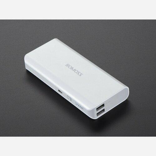 USB Battery Pack for Raspberry Pi - 10000mAh - 2 x 5V outputs