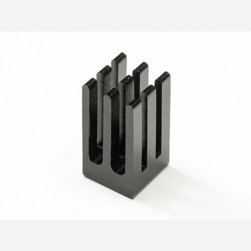 Aluminum SMT Heat Sink - 0.25x0.25 square - 0.5 tall